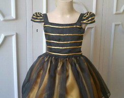 Vestido Bee Movie (abelhinha)