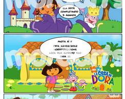 Convite gibi Dora Exploradora
