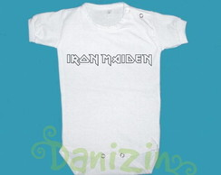 Body/T-Shirt Beb� e Infantil IRON MAIDEN