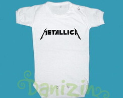 Body/ T-Shirt Beb� e Infantil METALLICA