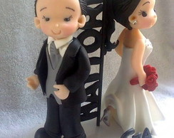Noivinhos infantilizados Sr e Sra