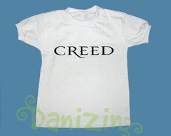 T-Shirt Beb� e Infantil CREED