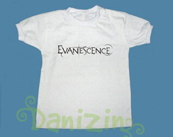 T-Shirt Beb� e Infantil EVANESCENCE
