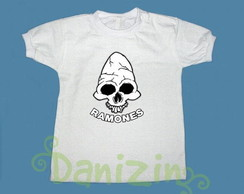 T-Shirt Beb� e Infantil RAMONES