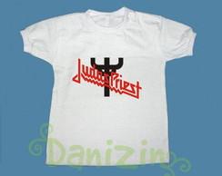 """T-Shirt Beb� e Infantil """"JUDAS PRIEST"""""""