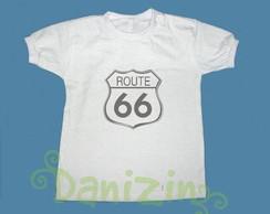 T-Shirt Beb� e Infantil ROUTE 66