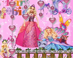KIT SCRAPBOOK DIGITAL BARBIE