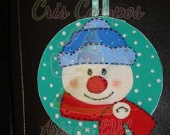 Enfeite de Natal em CD