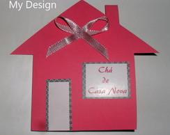 Convite Ch� de Casa Nova