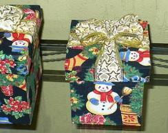 Trio de caixas de natal T001