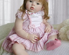 Boneca Reborn Gabriela beb� de 1 aninho