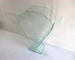 Bal�o com suporte de vidro