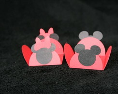 40 Forminhas decoradas Mickey ou Minnie