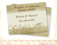 �m� - Save the Date - Flores