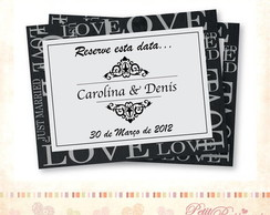 �m� - Save the Date - Love