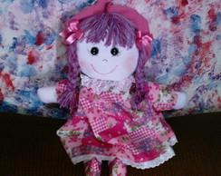 boneca de pano camponesa