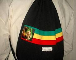 Mochila Reggae Lion PRETA (sarja)
