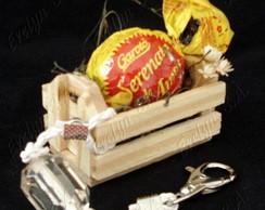 Lembrancinha caixotinho de feira