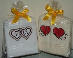 Duo toalhas de rosto Elegance