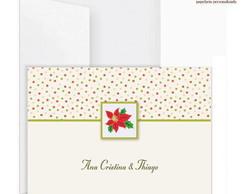 Cart�o Duplo �cones Natal (5 UN)