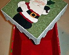 Porta Panetone - Papai Noel