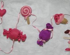 Lindo m�bile de cortina doces