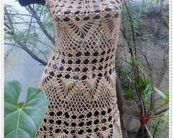 Vestido de Croch� Fantasia