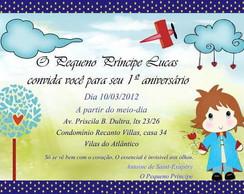 Convites 10x15 cm Personalizados