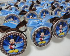 Baleiro Mickey Azul e Marrom