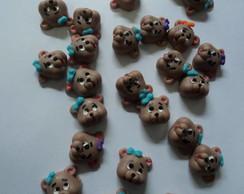 urso/ursa ( chocolate ) 100 unidades
