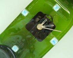 Rel�gio Garrafa - Decorativo/Glass Clock