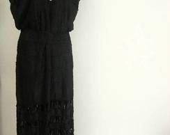 vestido de fitas