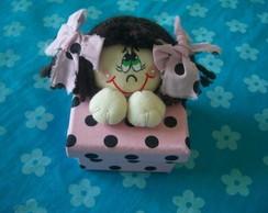 Boneca Carol na caixinha