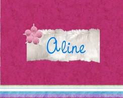 Convite 15 anos Aline