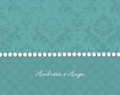 Convite de casamento Andr�ia e Hugo