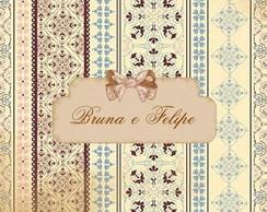 Convite de casamento Bruna e Felipe