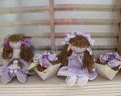 Boneca Beatriz e Boneca Livia
