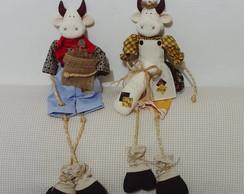 Vaca Clarabela e boi Hor�cio