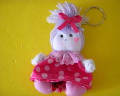 Chaveirinho de boneca