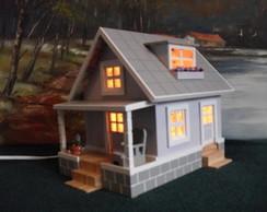 Casinha Miniatura Lumin�ria