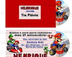 Convite M�rio Kart