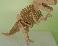 Quebra cabe�a - tiranossauro rex