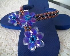 Chinelo Azul Royal