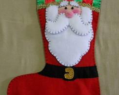 Bota Listada Papai Noel