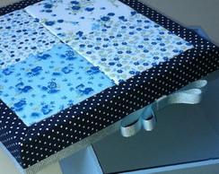 Caixa Blue Patchwork