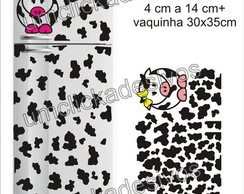 adesivo geladeira Manchas de vaca 07