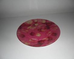 prato de vidro estampado (vendido)
