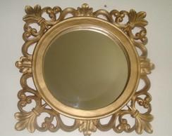 quadro com espelho Q