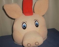 chap�u de espuma porquinho