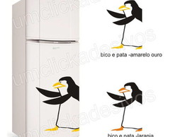 adesivo geladeira pinguim madagascar 4